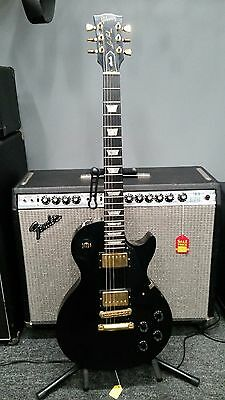1993 Gibson Les Paul Studio - Black with Gold Hardware