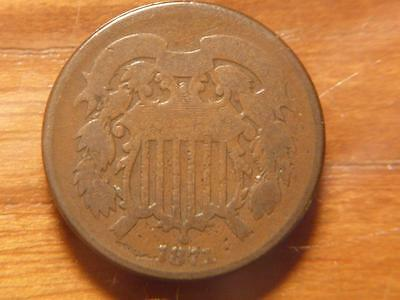 1871 2 Two Cent Piece, Good Condition......SKU#8561
