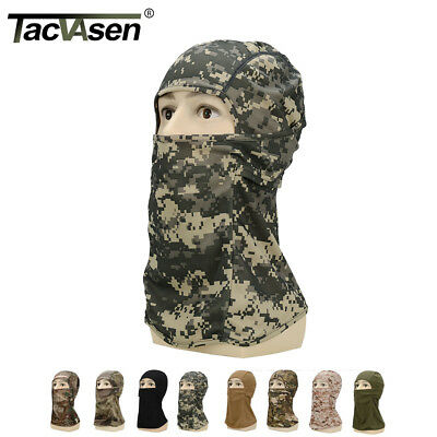 TACVASEN Military Face Mask Army Combat Breathable Mask Balaclava Cover Protect