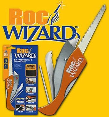 RocWizard 5-in-1 Professional Drywall Tool