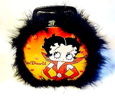 BETTY BOOP Lil' Angel & Lil' Devil Collectible Tin Lunch Box Retired