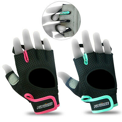 Ladies Gym Fitness Body Building Training womens workout Exercise Gloves Cycling
