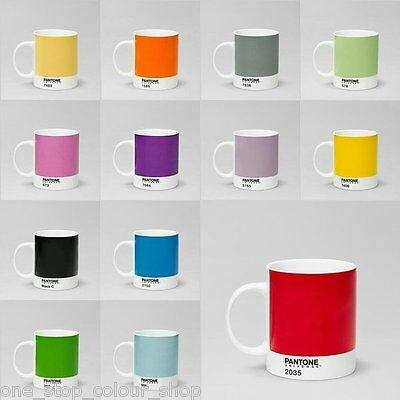 Pantone Universe Mugs - Great choice of colours. FREE MUG when you buy 3 or more