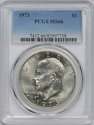 1973 Eisenhower Dollar PCGS MS66 - Only 5 Finer at PCGS