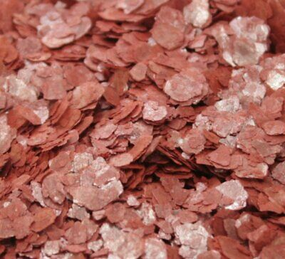 Mica Flakes - Brick Red - Natural Mica  - The Professionals Choice - 311-4361