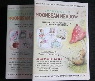 Crafter's Companion -  Moonbeam Meadow CD-ROM - Choices - Christmas / Everyday