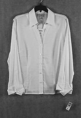 """Women's """"talbots"""" White Shirt New With Tags Size 14"""