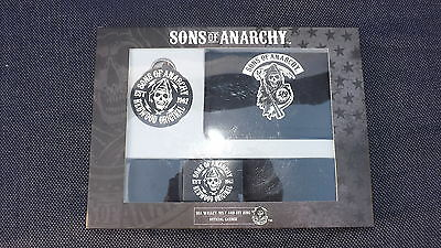 Sons Of Anarchy Gift Set  Wallet/belt/keyring Bnib