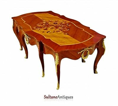 in 2 weeks ROYAL Very Large Louis XV style coffee table