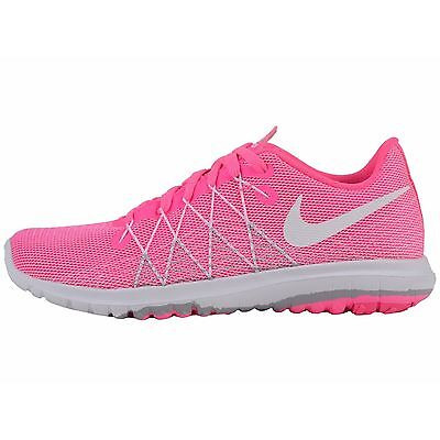 Nike Girls Flex Fury 2 Running Shoes Color Pink Size 5.5 Style# 820287-600