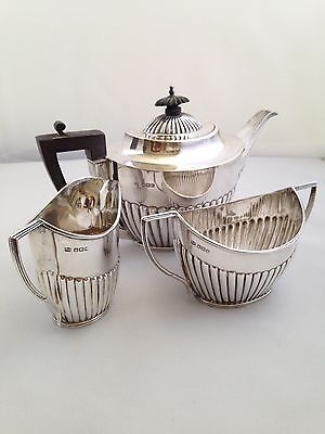 Sterling Silver MAPPIN & WEBB Tea Service - Sheffield 1917 - 699g