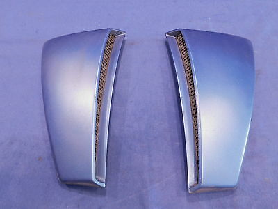 01 02 03 04 Mustang Quarter Panel Side Scoop Pair Duct Scoops Blue Used