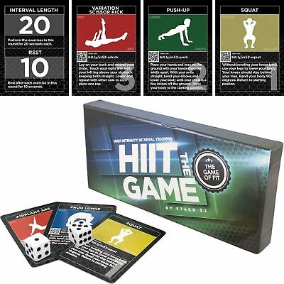 The HIIT Interval Workout Game by Stack 52. Designed by Military Fitness Expe...