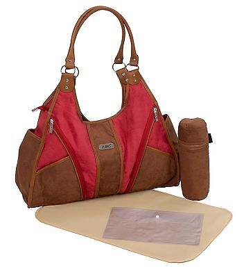 New Multifunction Suede Baby Diaper Nappy Changing Bag / Travel Bag