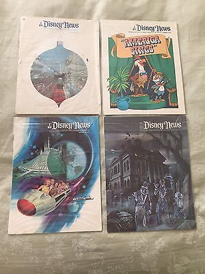 Lot of Four Dinsey News Magazines- 1972 - 1975