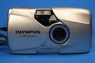 Olympus Infinity Stylus Epic QD Film Camera, 35mm 1:2.8 Lens with box and manual