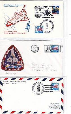 """STS-34 Atlantis 7 Covers Oct 1989 Space Shuttle """"Galileo"""" to Jupiter !!"""