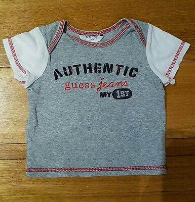 Baby Guess short sleeve tshirt size 6/9 months