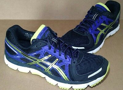 ASICS GEL NEO-33 Running Shoes Black Lime Electric-Purple WOMEN'S SIZE 8