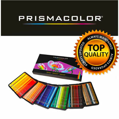 GENUINE PrismaColor Premier Soft Core 150 Coloured Pencils prismacolour