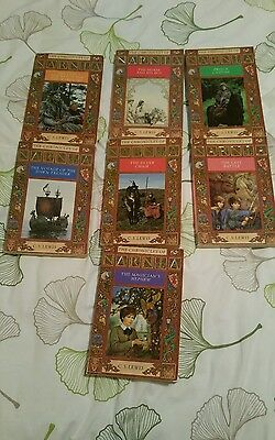 The chronicles of narnia book set 1988 edition