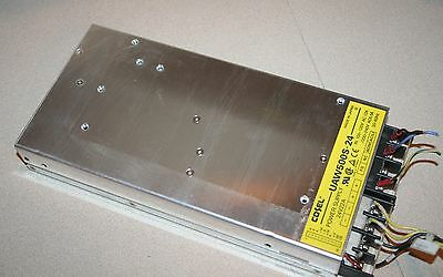 COSEL UAW500S-24 DC POWER SUPPLY 24V22A made in Japan