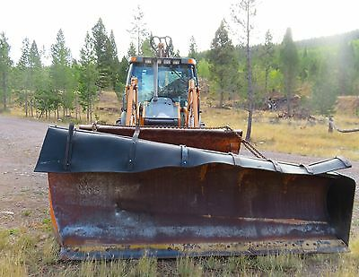 Commercial  State  Snow Plow Modified to work with Backhoe/loader