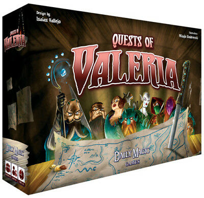 Quests of Valeria   Daily Magic Games - Board Game New