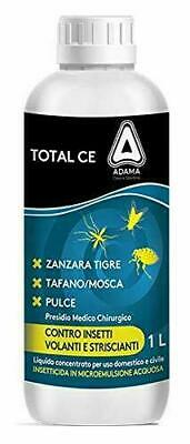 Insecticide Flies Mosquitoes Concent. Total Ce 250 Ml 1 Lt Permethrin