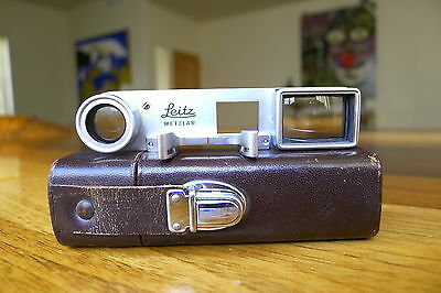 Leica Close Focus Goggles Bug Eyes Sdpoo 14002 50Mm Dr Summicron Excellent++