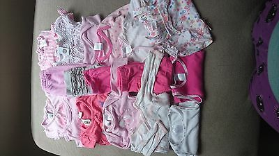 bulk baby girl clothes (size 000)