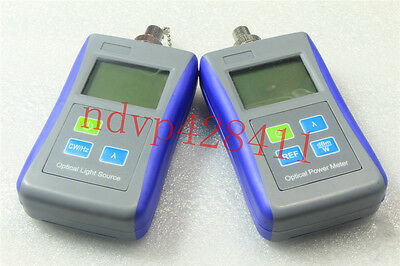 Fiber Optic Laser Light Source 1310/1550nm Digital Optical Power Meter