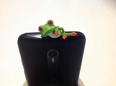 Phone Tablet Anti-Dust Dust Cover Proof jack Ear Plug Cap 3.5 mm Frog Kitty Cat