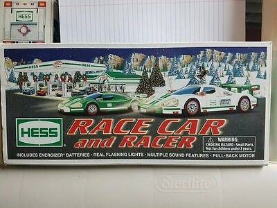 HESS 2009 RACE CAR AND RACER New in box