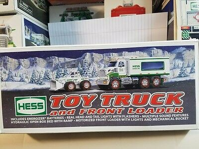 2008 Hess Gasoline Toy Truck & Front Loader New in box