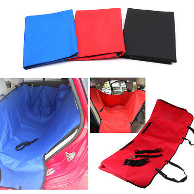 Waterproof In Car Pet Dog Cat Rear Back Seat Protection Cover Buckle Fasten Mat