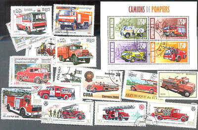 Fire Engines collection 100 all different