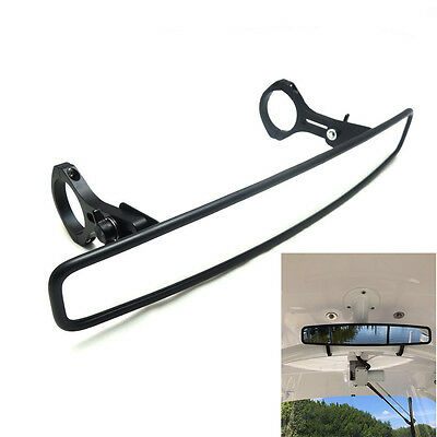 "15in Rear View Mirror Wide Angle 1.75"" Clamp for UTV Honda Polaris Arctic Cat"