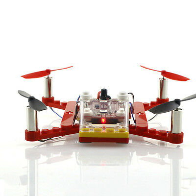 Building Block DIY Toy RC FPV Quadcopter Drone Ready to Fly Children's Gift Toy