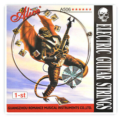 Alice A506SL Steel 1-st First Single Electric Guitar Strings .009 inch