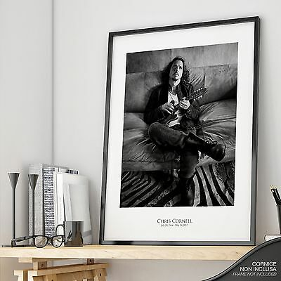 CHRIS CORNELL Higher Truth - PHOTO Satin Print POSTER Soundgarden Audioslave