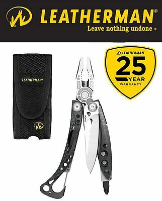 Genuine Leatherman Skeletool CX Stainless Steel Multi-Tool & Nylon Sheath