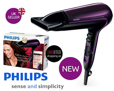Philips HP8233/00 ThermoProtect Ionic Hairdryer Cool Shot 2200W Hair Dryer Turbo
