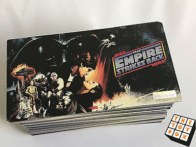 1995 Topps Widevision Star Wars Empire Strikes Back Trading Cards Complete Set