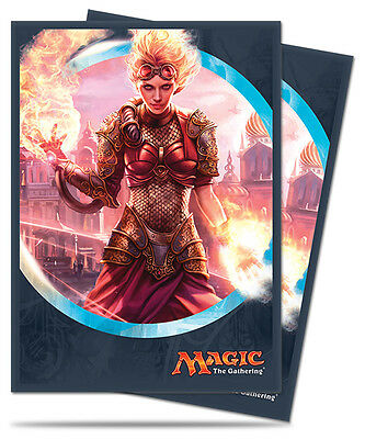 Ultra Pro Deck Protector Sleeves x 80 - Kaladesh - Chandra, Torch of Defiance