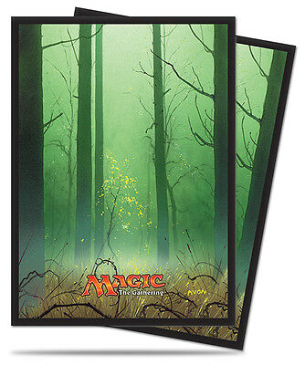 Ultra Pro Deck Protector Sleeves x 80 - Mana 5 - Forest