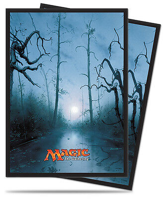 Ultra Pro Deck Protector Sleeves x 80 - Mana 5 - Swamp