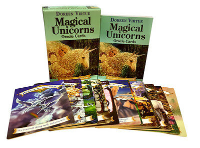 Magical Unicorns Oracle Cards Deck Doreen Virtue Messages and Guidance Of Life