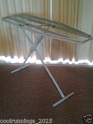 IRONING BOARD FOLDING 123 x 36cm ADJUSTABLE (max Height 87cm)