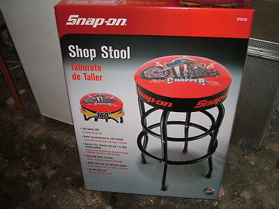"snap on garage swivel seat stool nice gift 30"" high [1 now left]"